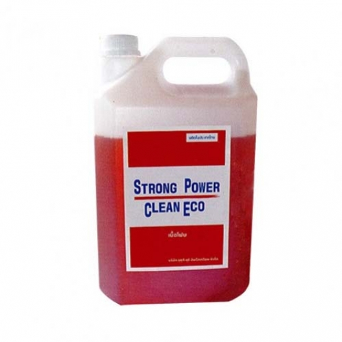น้ำยาทำความสะอาด เนื้อโฟมสูตรเข้มข้นสตรอง พาวเวอร์ คลีน อีโค 4 กก