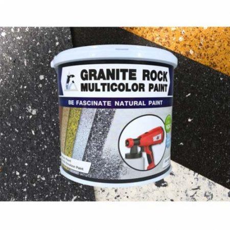 สีพ่นลายหินแกรนิต Granite Rock Multicolor
