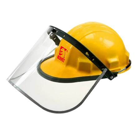 หมวกเซฟตี้ + หน้ากากกันสะเก็ดใส รุ่น KH-15007