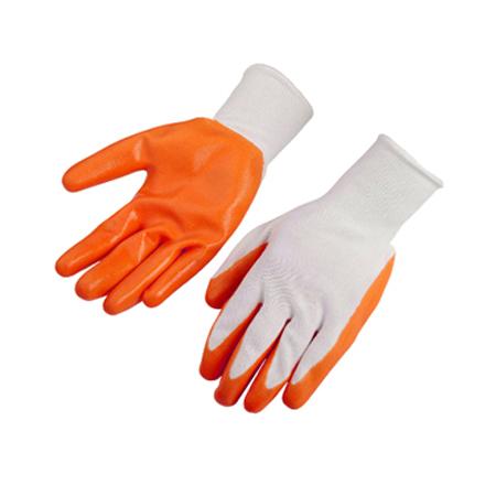 ถุงมือผ้าเคลือบไนไตร