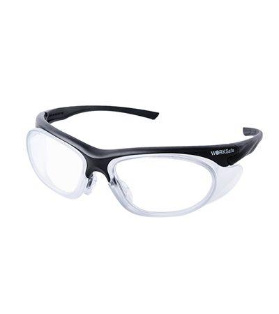 แว่นนิรภัย สำหรับประกอบเลนส์สายตา URANUS กรอบ BLACK [Pre-order]
