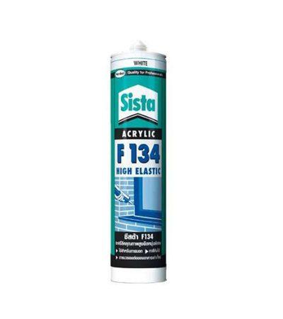 อะครีลิคยาแนว F134 สีขาว 300ml SISTA