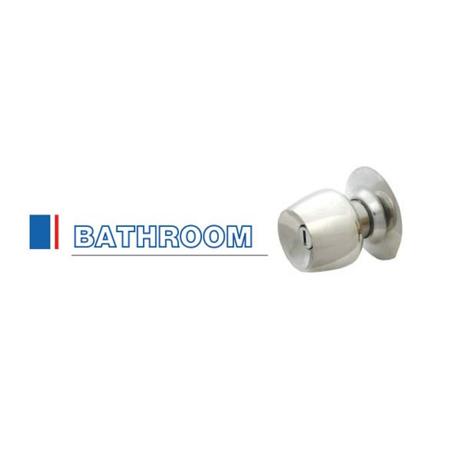 RMI ลูกบิดประตูห้องน้ำ เงา/ด้าน