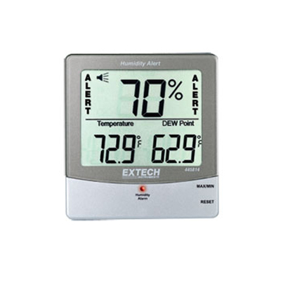 Extech 445814 Hygro-Thermometer Humidity Alert