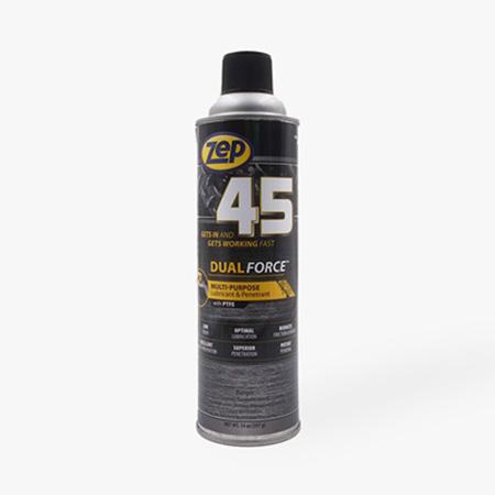 45 dualforce สเปรย์น้ำยาอเนกประสงค์ ป้องกันสนิม